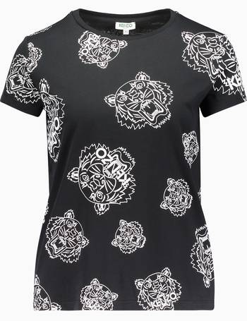 1d8d44c7 Allover Tiger Print Short Sleeve T-Shirt from Choice Store