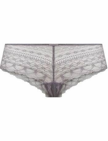 f9f65fc7b Light Purple Geometric Lace Short Briefs New Look from New Look