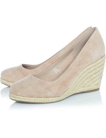 810ced14fac Annabella Heeled Espadrille Wedge Shoe