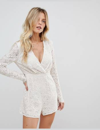 a3eeb7fcdd Shop Women s Lace Playsuits up to 80% Off