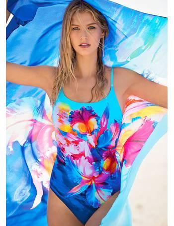 422c9233db259 Gottex. Hawaii Round Neck Swimsuit. from UK Swimwear