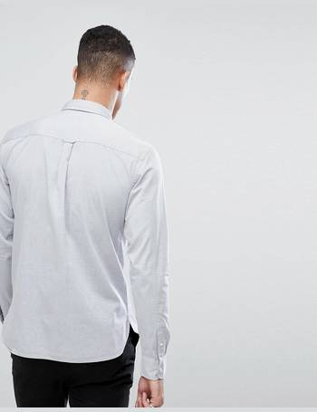 e6e3b4a5 Shop Men's Allsaints Long Sleeve Shirts up to 60% Off | DealDoodle