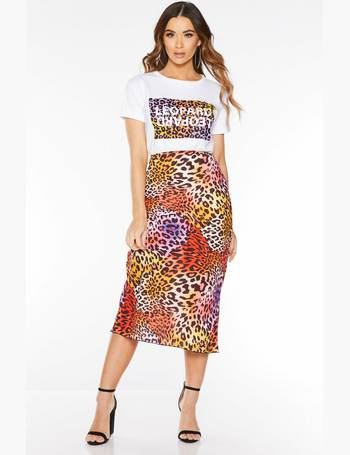 a39eca443763 Shop Women's Quiz Printed Skirts up to 10% Off | DealDoodle