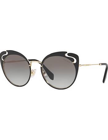 2485d160ae Shop Women s Miu Miu Cat Eye Sunglasses up to 55% Off
