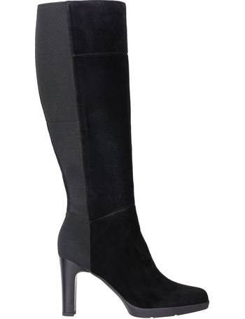 Geox Glynna Block Heeled Knee High Boots at John Lewis