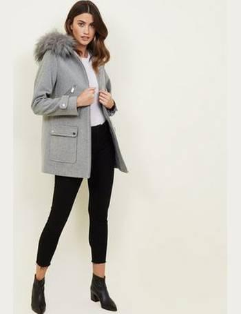 9ff607e379c3 Shop Women's New Look Duffle Coats up to 55% Off | DealDoodle