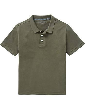 Mens Capsule Long Sleeve Knitted Polo Jacamo