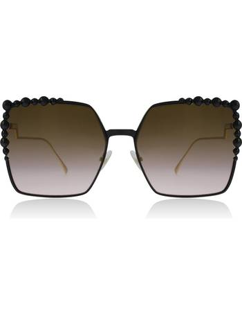 ade2e0cf18f8 FF0259 S Sunglasses Black 2O5 60mm from Sunglasses Shop