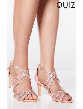 ffa12ec76 Shop Women s Quiz Heel Sandals up to 30% Off