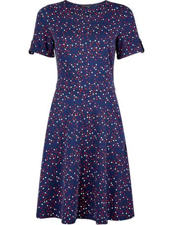 womens cotton dorothy perkins purple short sleeve  T-Shirt