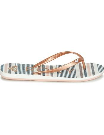 6b5791e7be1850 Shop Women s Roxy Flip Flops up to 65% Off