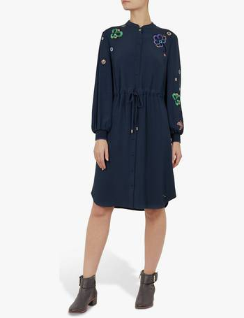 2c5ef975733 Ted Baker. Colour By Numbers Dioss Embroidered Shirt Dress
