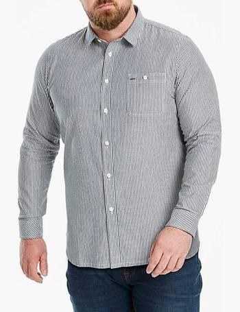 Mens W/&B LONDON L//S Chambray Shirt Jacamo