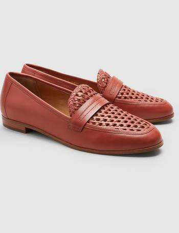 f4078d7c5e8 Red Signature Forever Comfort Leather Woven Loafers from Next
