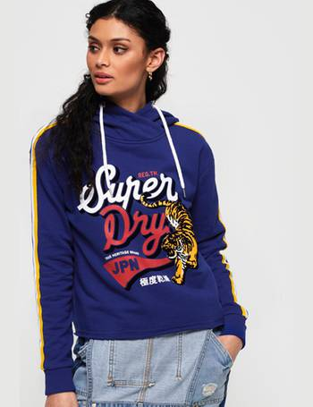ae420e6a Shop Superdry Women's Cropped Hoodies up to 45% Off | DealDoodle