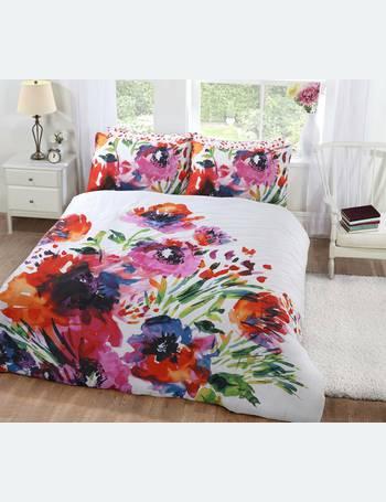 Argos Home Botanical Floral Bedding Set Kingsize