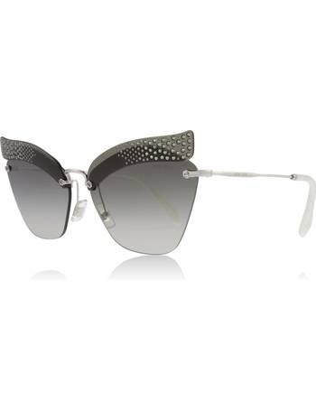 1e252e3935f9 Shop Women's Miu Miu Sunglasses up to 55% Off | DealDoodle