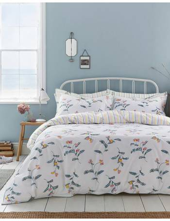 0cb4e03af6473 Cream Green Floral Swanton Floral Duvet Cover from Joules