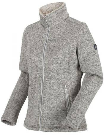 Regatta Women/'s Zyranda Full Zip Marl Fleece Grey