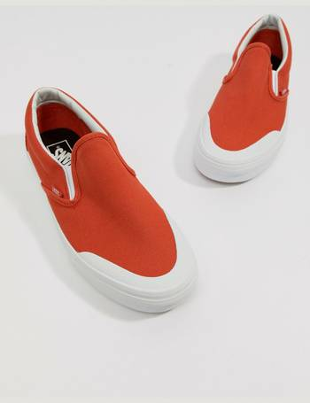 13c6b2e60466 Classic Slip-On 138 Plimsolls In Orange VA3TKBU7W from ASOS