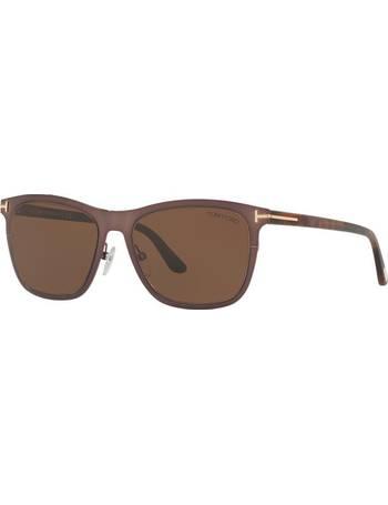 b30f47fbc634 Tom Ford. Alasdhair 55 Brown Square Sunglasses. from Sunglass Hut Uk