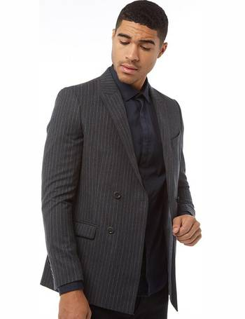0ddde63c7a26 Mens Bank Robber Suit Jacket Pinstripe from Mandm Direct