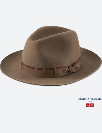 cf1dce54009f8 WOMEN INES WOOL FEDORA HAT from Uniqlo