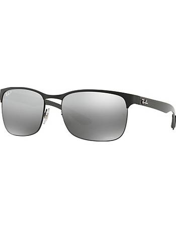 882898ce61 Ray-ban. RB8319 Polarised Rectangular Sunglasses. from John Lewis