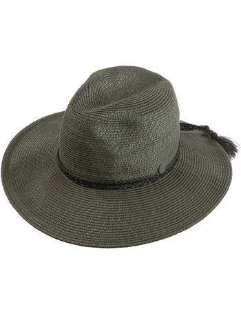 1d01d176235 Seafolly. Shady Lady Collapsible Fedora Hat