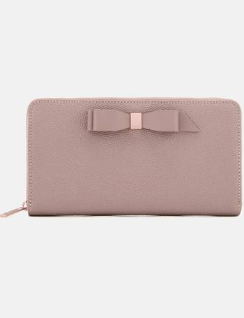 2052e721e38133 Women s Aine Bow Zip Around Matinee Purse from Mybag.com