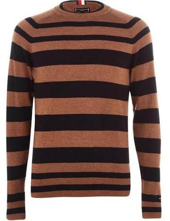 su/éter para Ni/ñas Tommy Hilfiger Animated Multi Stripe Bn Sweater