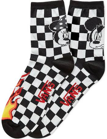 6cc54451cf Disney X Vans Punk Mickey Crew Socks (1 Pair Pk) (black) Women