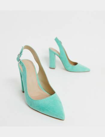 13ef2c8cb9ad8 ASOS DESIGN. Wide Fit Penley slingback high block heels ...