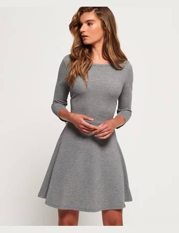 Shop Women s Superdry Skater Dresses up to 45% Off  86868619f