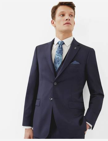 cb228c43f Debonair wool jacket Dark Blue from Ted Baker