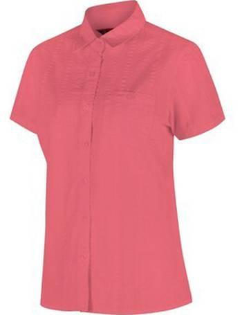 Regatta Women/'s Jerbra II Coolweave Cotton Shirt Green