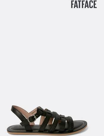 5da6c7732641 FatFace Black Grays Gladiator Sandal from Next