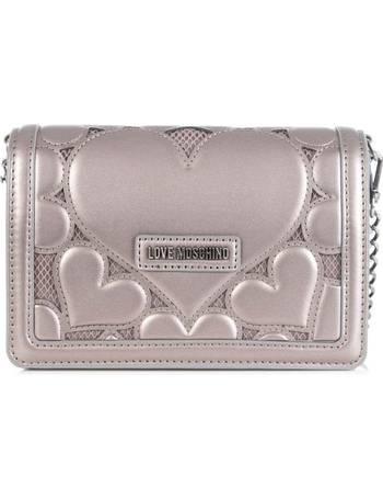 d417bf00286 Love Moschino. Heart Detail Clutch. from Eqvvs. £119.00 £169.00. Women's  Logo Clutch Bag ...