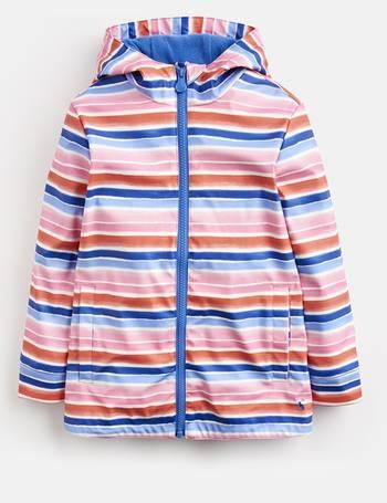 f9fed999f Pink Rainbow Stripe Raindance Waterproof Rubber Coat 1-6 Yr from Joules