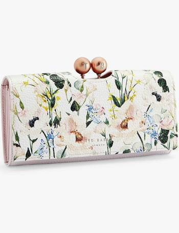 d27f02c23dc Ted Baker. Clarita Floral Print Leather Matinee Purse. from John Lewis