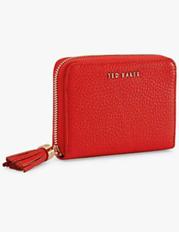 b1f0665ab68 Ted Baker. Sabel Small Leather Zip Around Matinee Purse. from John Lewis