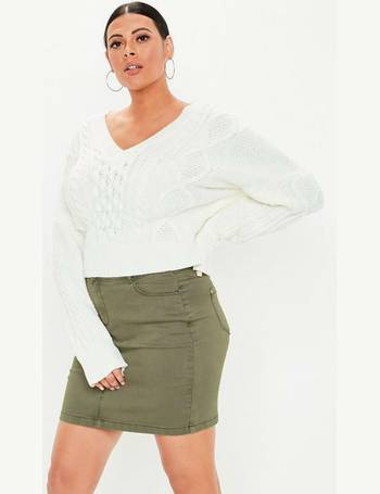 090b130a61bc Missguided Plus Size Skirts | Denim & Leather - Dealdoodle