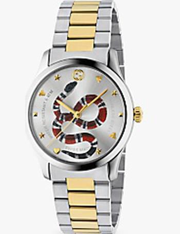 7e1efdcd255 Gucci. YA1264075 Unisex G-Timeless Two Tone Bracelet Strap Watch