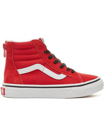 e45dba50785 Kids Suede Pop Sk8-hi Zip Shoes (4-12 Years) ((