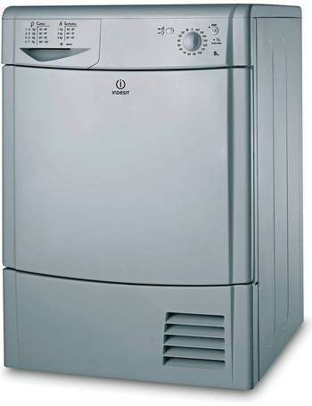 Currys White INDESIT Ecotime IDC8T3B Condenser Tumble Dryer