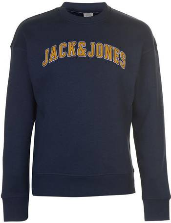 Jack and Jones Mens Originals Rafsmen Crew Sweater Jumper Pullover Long Sleeve