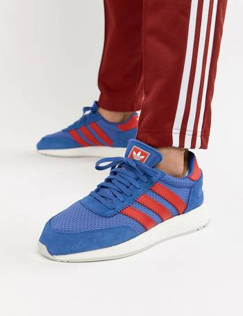 super popular a0197 19b7f Adidas Originals. I-5923 Leather Trainers In Blue D96605. from ASOS