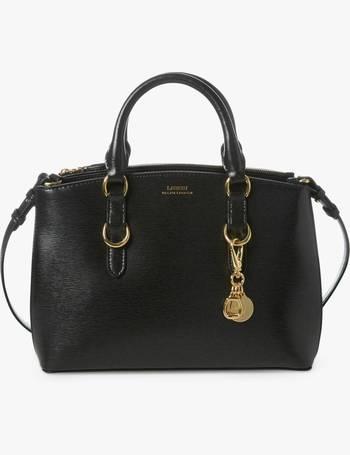 0f43374a3de3 Lauren Ralph Lauren Saffiano Mini Leather Satchel from John Lewis