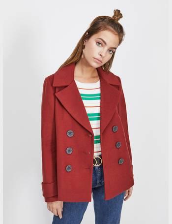 Miss Selfridge Pea Coats For Women, Womens Short Pea Coat Uk