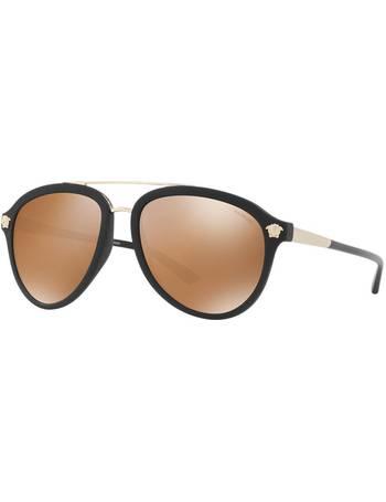 34874729278c Shop Men s Sunglass Hut Uk Aviator Sunglasses up to 30% Off